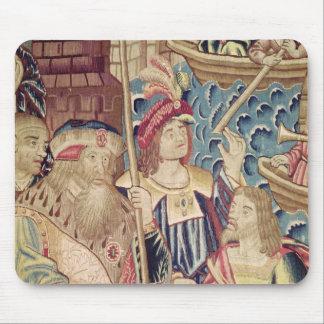 The Arrival of Vasco da Gama  in Calicut Mouse Mat