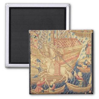 The Arrival of Vasco de Gama  in Calicut Magnet