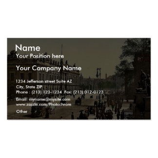 The Arsenal, Berlin, Germany rare Photochrom Business Card Templates