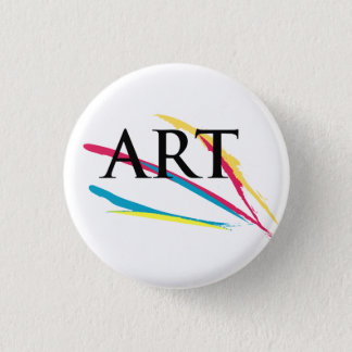 The Art Appreciator Paintdabs 3 Cm Round Badge