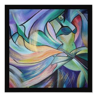 The Art of Belly Dance 13 Cm X 13 Cm Square Invitation Card