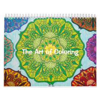 The Art of Colouring Calendar