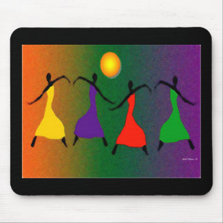 The Art of Dance Mouse Mat