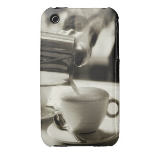 The art of fresh coffee making / adding steamed iPhone 3 cover