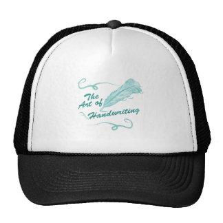 The art of handwriting cap