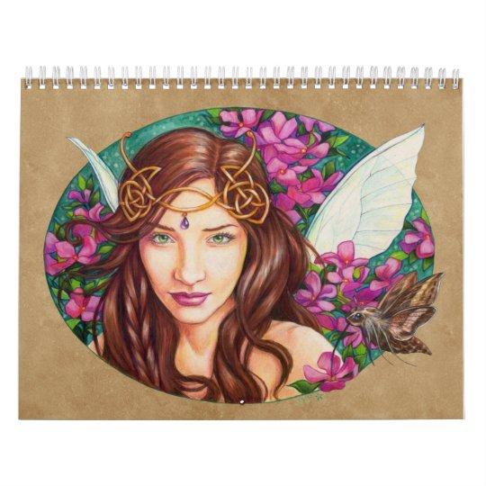 The art of Jane Starr Weils 2017 calendar