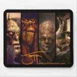 The Art of Jeff Herndon Mouse Pad