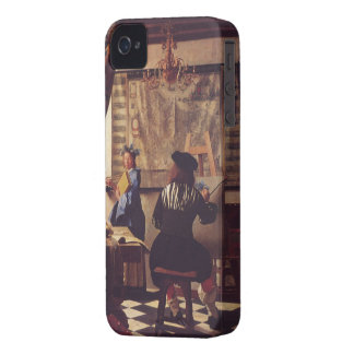 The Art of Painting by Johannes Vermeer Case-Mate iPhone 4 Cases