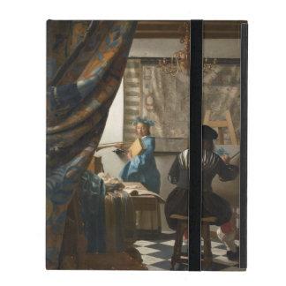 The Art of Painting by Johannes Vermeer iPad Folio Case
