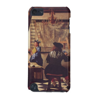 The Art Of Painting by Johannes Vermeer iPod Touch 5G Cases