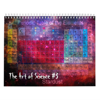 The Art of Science #3 Wall Calendars