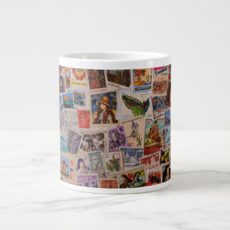 The Art of Stamps - Jumbo Mug