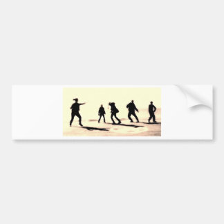 the art of streetdance bumper sticker