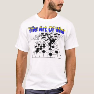 """The Art Of War"" GO or Weiqi t shirt"