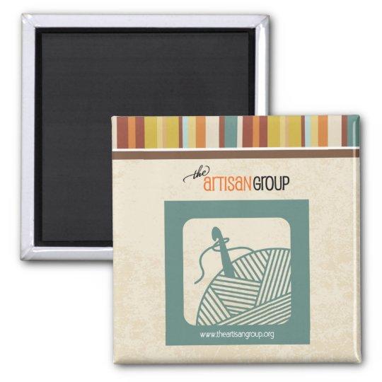 The Artisan Group Magnet (crochet)