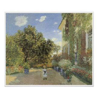 The Artist House at Argenteuil, 1873 Poster