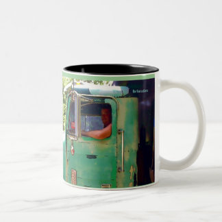 """""""The artist is extremely lucky who is presented... Two-Tone Mug"""