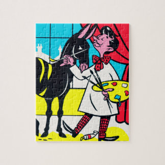 The Artist - Jigsaw Puzzle with Gift Box