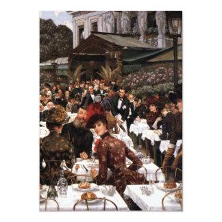 The Artist Ladies Fine Art 13 Cm X 18 Cm Invitation Card