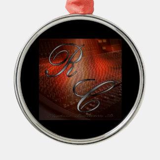 The Artist Logo Premium Round Ornament