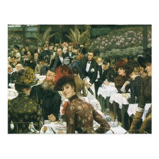 The Artist s Ladies by James Tissot Postcard