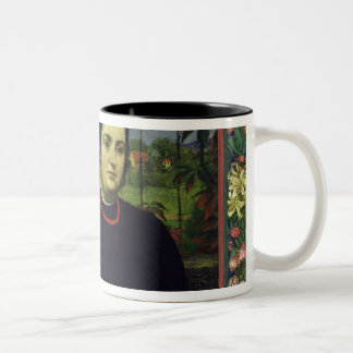The Artist with his Wife Bonicella, 1887 Two-Tone Coffee Mug