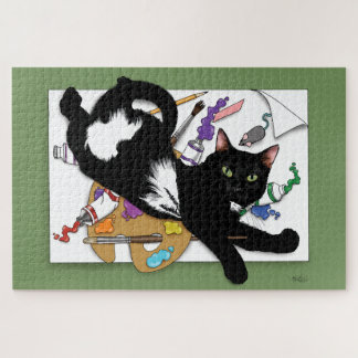 The Artist's Cat Jigsaw Puzzle