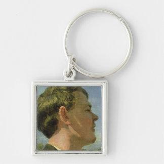 The Artist's Cousin, c.1860 Key Chain