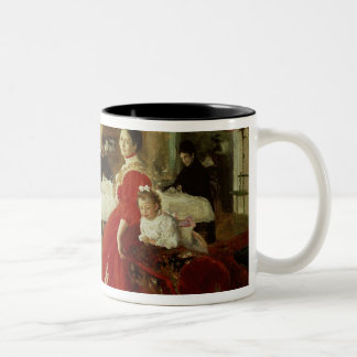 The Artist's Daughter, 1905 Two-Tone Coffee Mug