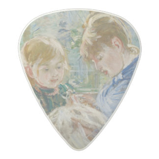 The Artist's Daughter, Julie, with her Nanny Acetal Guitar Pick