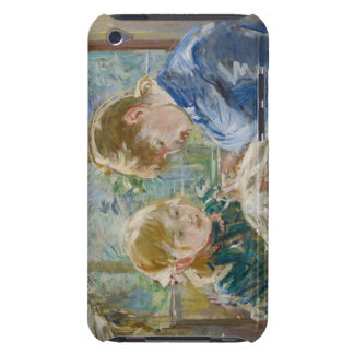 The Artist's Daughter, Julie, with her Nanny Barely There iPod Case