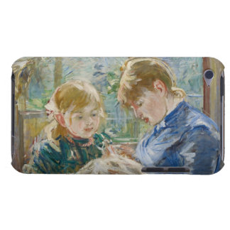 The Artist's Daughter, Julie, with her Nanny Case-Mate iPod Touch Case