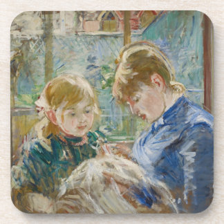 The Artist's Daughter, Julie, with her Nanny Coaster
