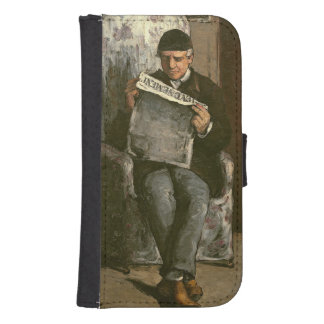 "The Artist's Father, Reading ""L'Événement"", 1866 Samsung S4 Wallet Case"