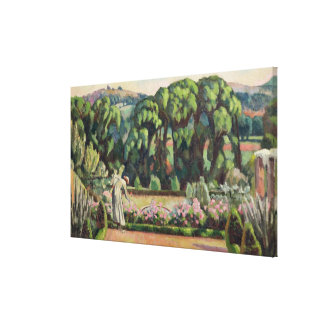 The Artist's Garden at Durbins, c.1915 (oil on can Canvas Print