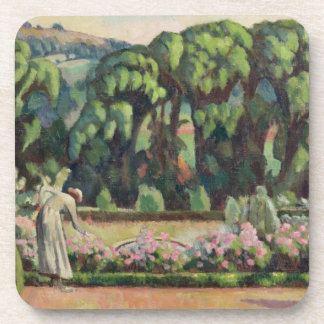 The Artist's Garden at Durbins, c.1915 (oil on can Coaster