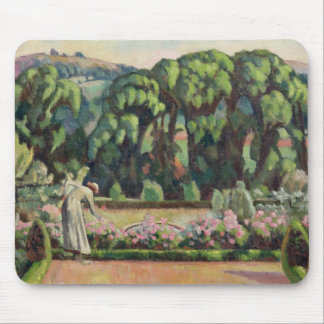 The Artist's Garden at Durbins, c.1915 (oil on can Mouse Pad
