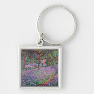 The Artist's Garden at Giverny, 1900 Key Chains