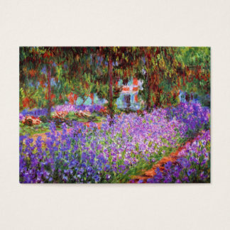 The Artist's Garden at Giverny by Monet Chubby