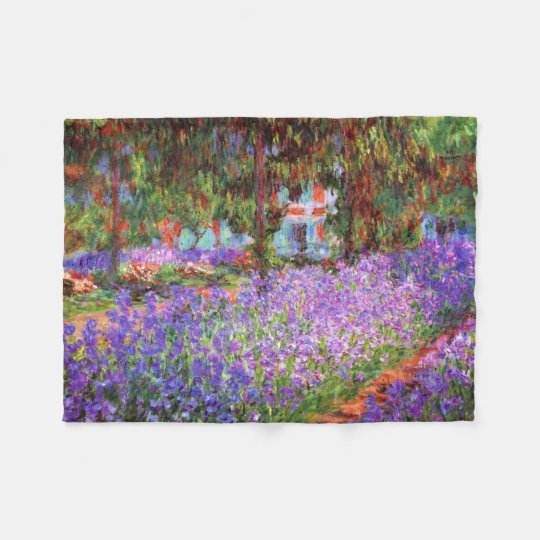 The Artist's Garden at Giverny by Monet Fleece
