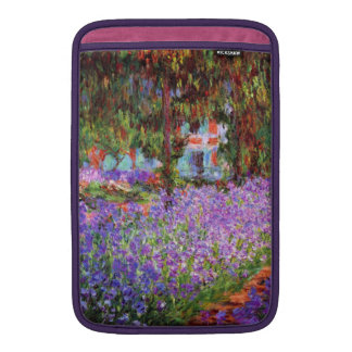 The Artist's Garden at Giverny by Monet MacBook Sleeve