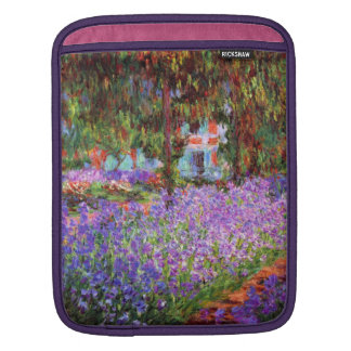 The Artist's Garden at Giverny by Monet Sleeves For iPads