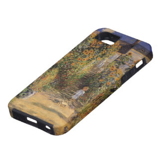 The Artist's Garden at Vetheuil by Claude Monet iPhone 5 Case