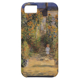 The Artist's Garden at Vetheuil by Claude Monet iPhone 5 Cover