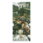 The Artist's Ladies by James Tissot Customized Rack Card