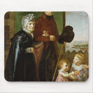 The Artist's Parents, 1806 Mouse Pad