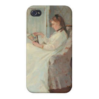 The Artist's Sister at a Window, 1869 iPhone 4/4S Case