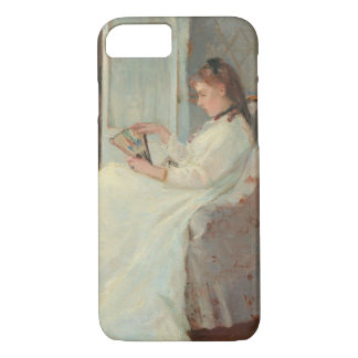 The Artist's Sister at a Window, 1869 iPhone 8/7 Case