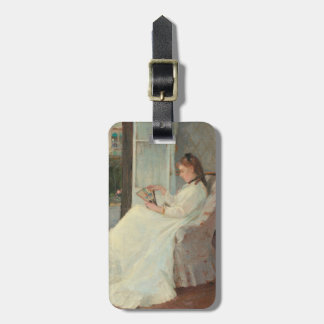 The Artist's Sister at a Window, 1869 Luggage Tag