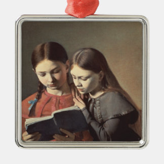 The Artist's Sisters Signe and Henriette Christmas Ornament